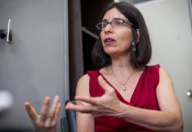 doctora Russel Teresinha Dutra da Rosa, profesora de la Universidad Federal de Río Grande del Sur, en Brasil