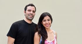 Diana Bayardo Mercado y Gervasio Cetto Bojórquez, egresados de la  licenciatura en Gestión Cultural