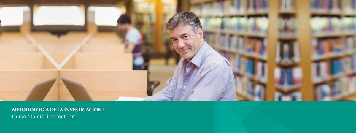 Curso Metodología de la Investigación I inscríbete, inicio 1 de octubre