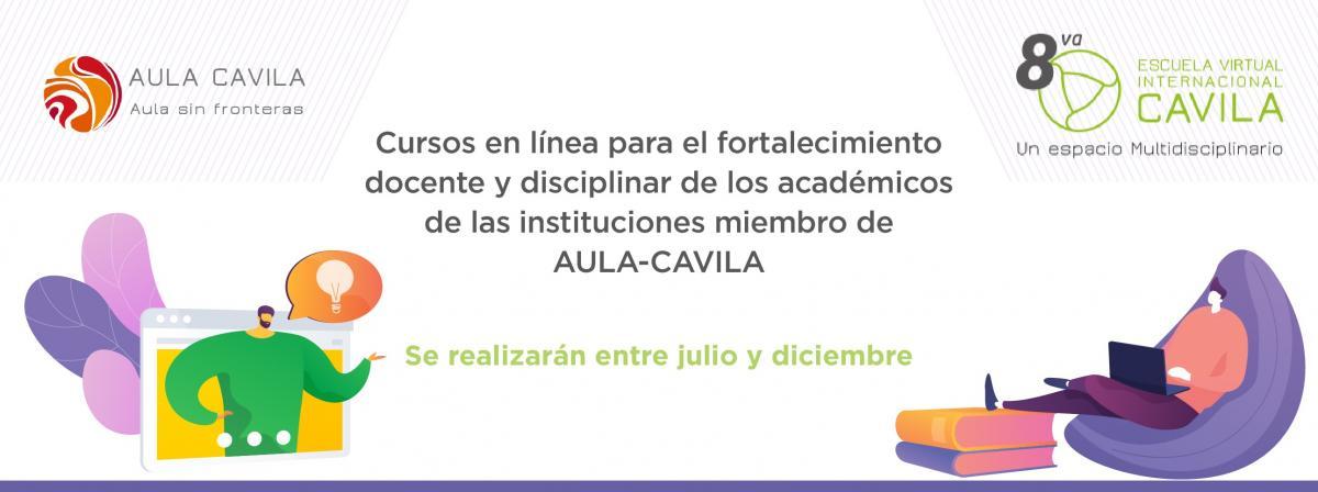 Cursos en línea para el fortalecimiento docente y disciplinar de los académicos