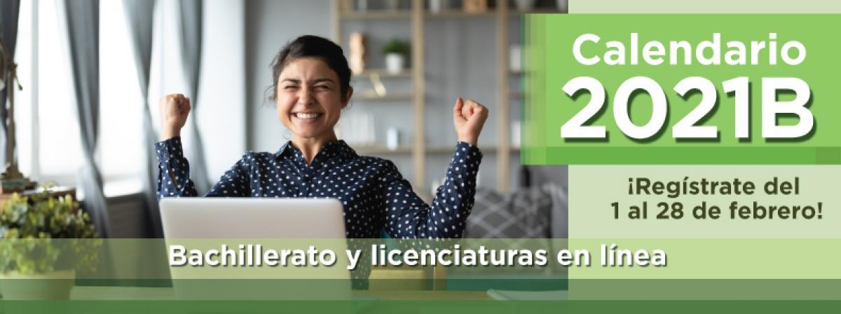 Calendario de trámites 2021B inscríbete durante febrero a bachillerato y licenciaturas