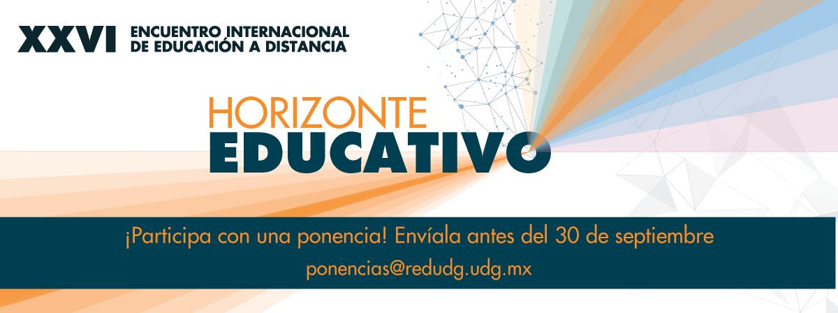 Participa con una ponencia en el XXVI Encuentro Internacional de Educación a Distancia, envíala antes del 30 de septiembre