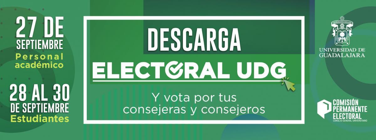 Elección de consejeros universitarios  ¡vota este 27 de septiembre!