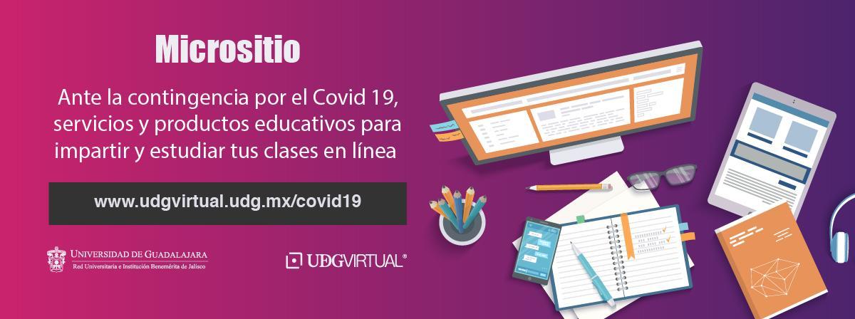 Servicios y productor educativos para impartir y estudiar clases en línea ante la contingencia Covid19