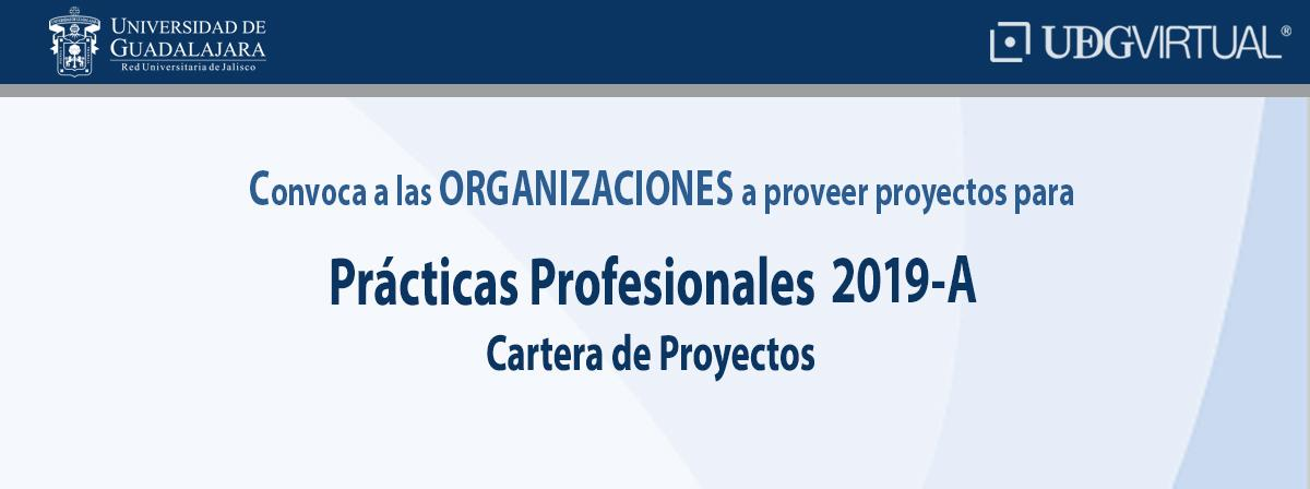 Convocatoria para organizaciones a ser proveedor de proyectos para prácticas profesionales